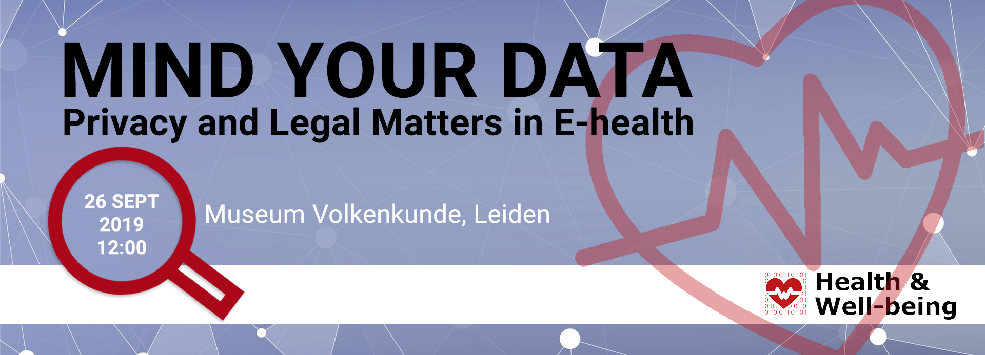 26 Sep: E-Health conference on Privacy and Legal Matters