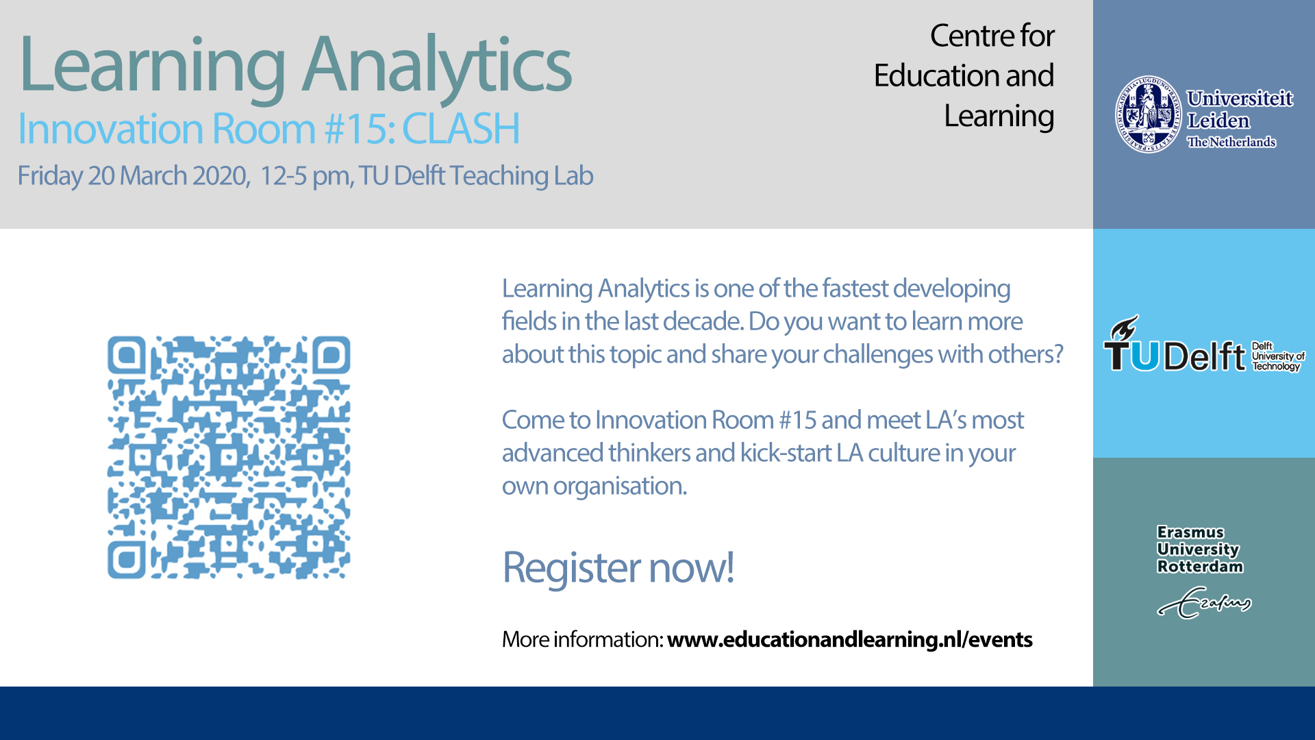 Developing a Culture of Learning Analytics – 20 March [Cancelled]